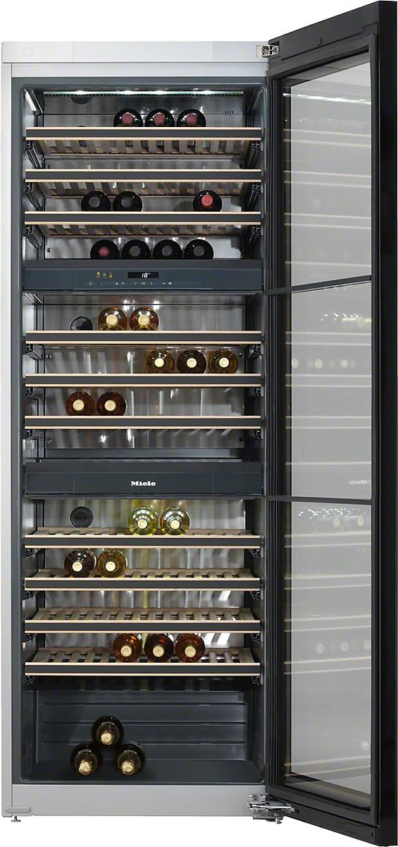 KWT 6831 SG винные холодильник, сталь