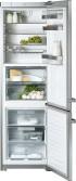 KFN 14927 SD ed külmik-sügavkülmik, teras, eraldiseisev 201 cm, soodushind 1890 €